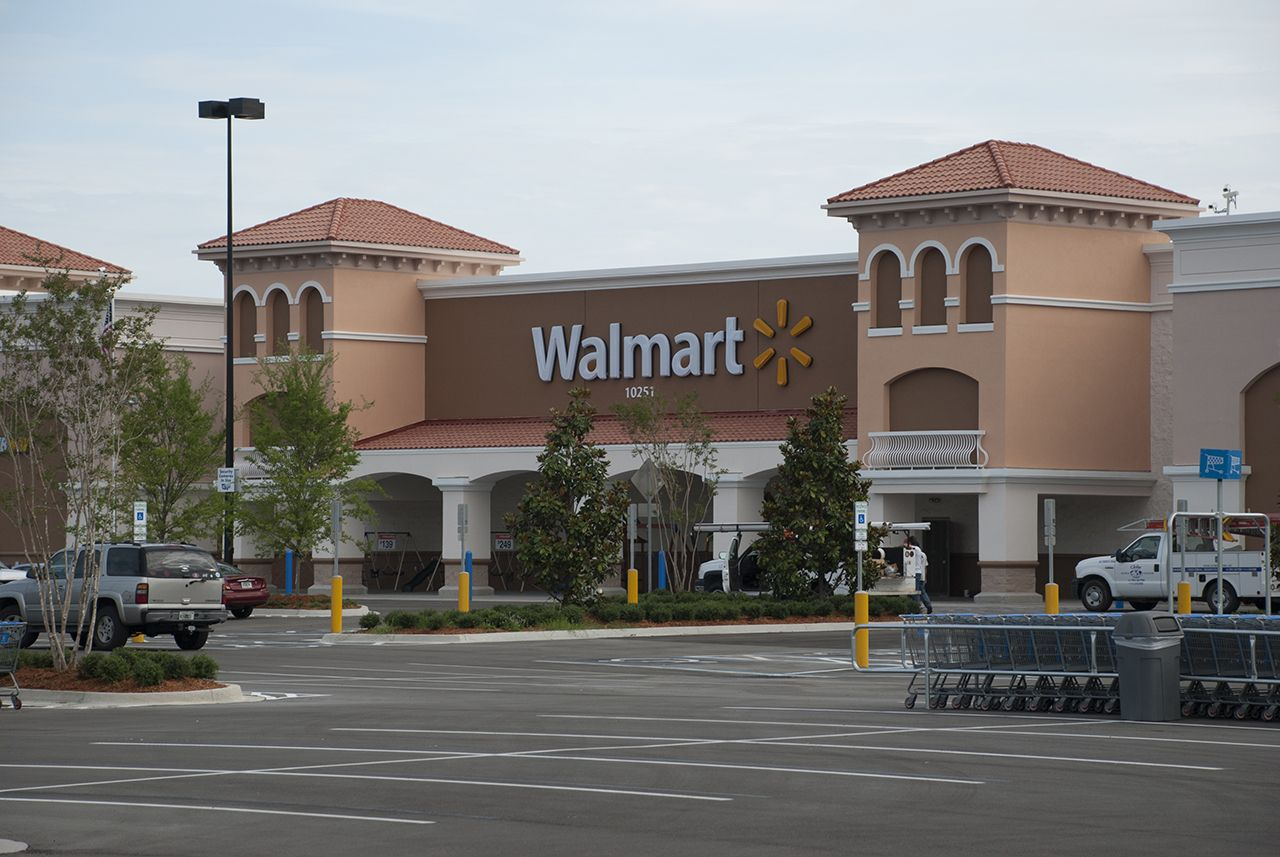 Walmart At Avenues Walk Etm Inc Jacksonville Fl With Images