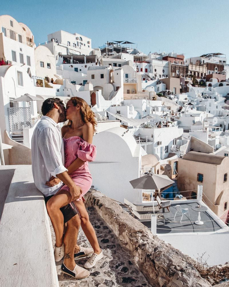 Best Spots For Your Santorini Pictures (With Map) • Stay Close Travel Far