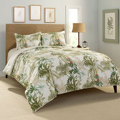 Tommy Bahama Rainforest Tropical Comforter Set From Beddingstyle.com