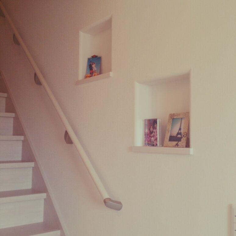 壁 天井 写真 階段のニッチのインテリア実例 2014 04 30 10 48 39