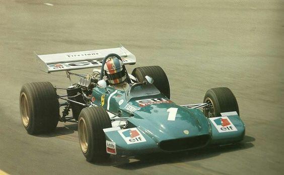 Francois Cevert Tecno BDA F2 1970