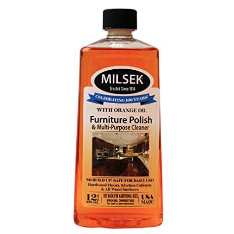 Milsek Or 12 Furniture Polish And Cleaner With Orange Oil 12