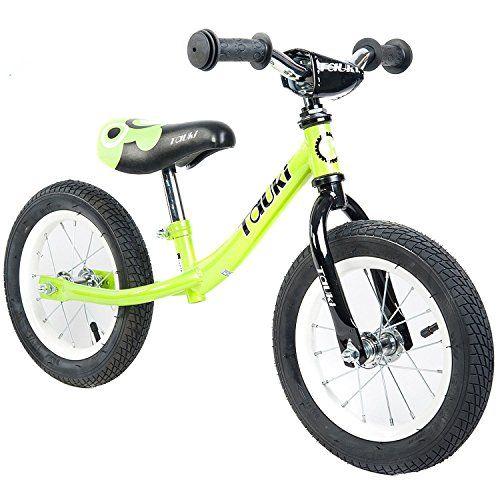 Tauki Kid Balance Bike No Pedal Push Bicycle 12 Inch Red 95
