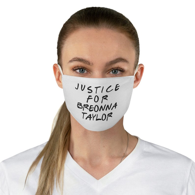Justice For Breonna Taylor Face Mask Breonna Taylor Case Etsy In 2020 Funny Face Mask Mask Face Mask