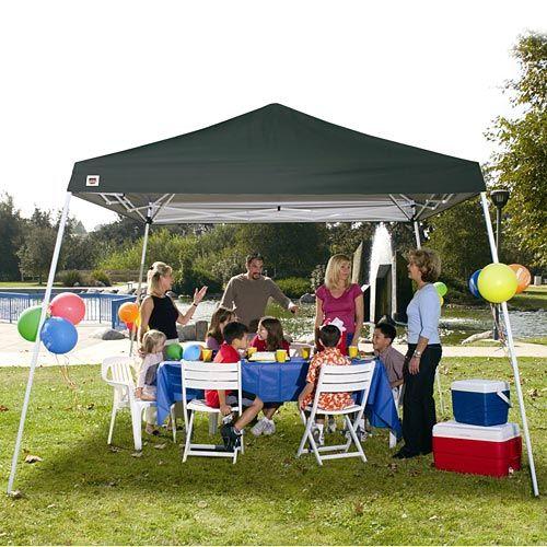Quik Shade Weekender 12u0027 x 12u0027 Instant Canopy Green C&ing  Walmart  sc 1 st  Pinterest & Quik Shade Weekender 12u0027 x 12u0027 Instant Canopy Green: Camping ...