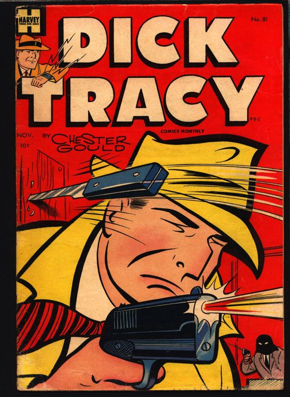 DICK TRACY 81 Chester Gould Harvey Comics & So Many More @QualityComicsAmerica #QualityComicsAmerica