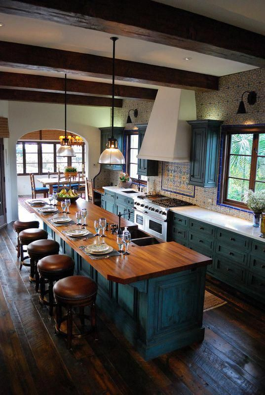 Top 29 Diy Ideas Adding Rustic Farmhouse Feels To Kitchen: If You Like The Look Of Warm, Welcoming Old-world Homes, Spanish Revi…