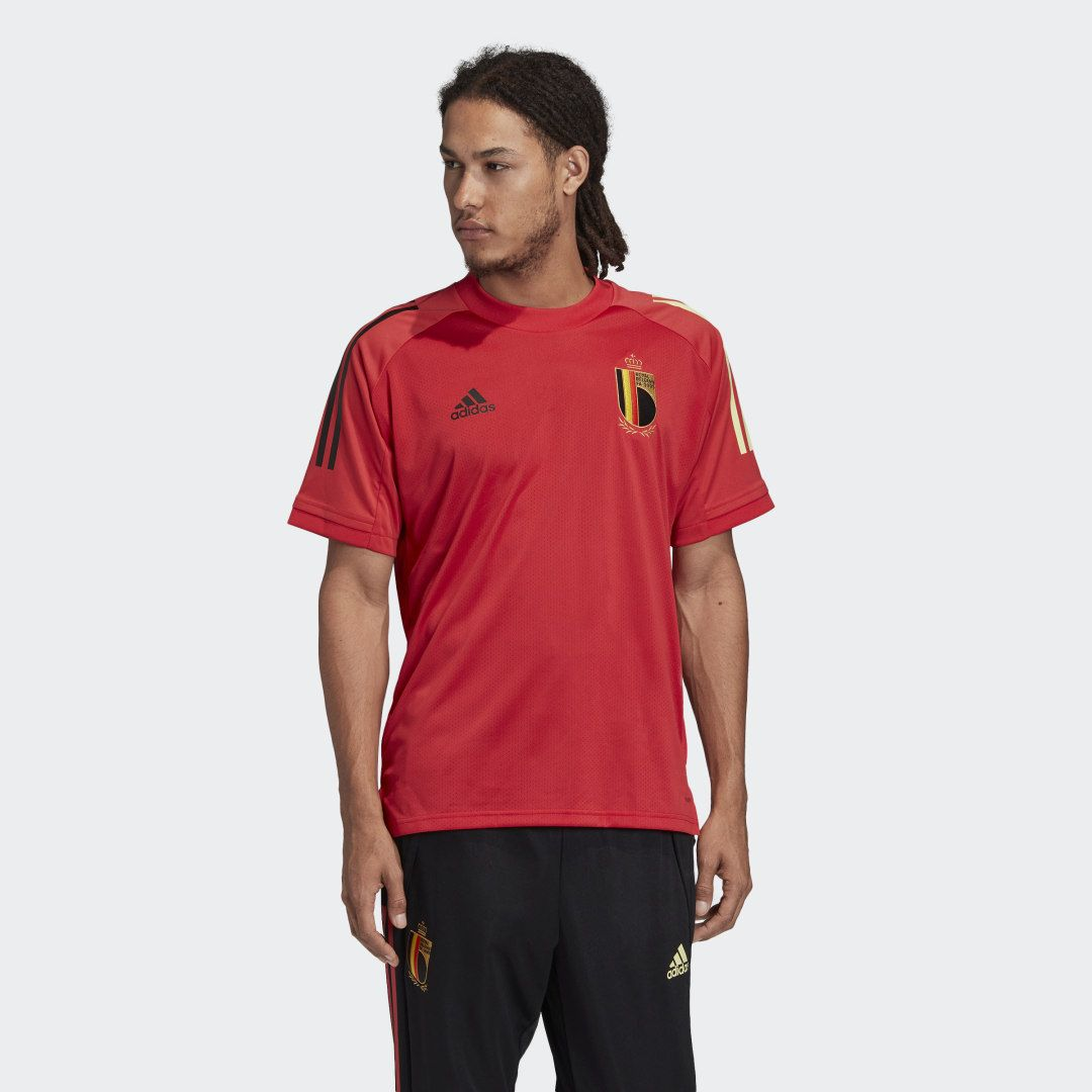 adidas Belgien Trainingstrikot - Rot | adidas Deutschland