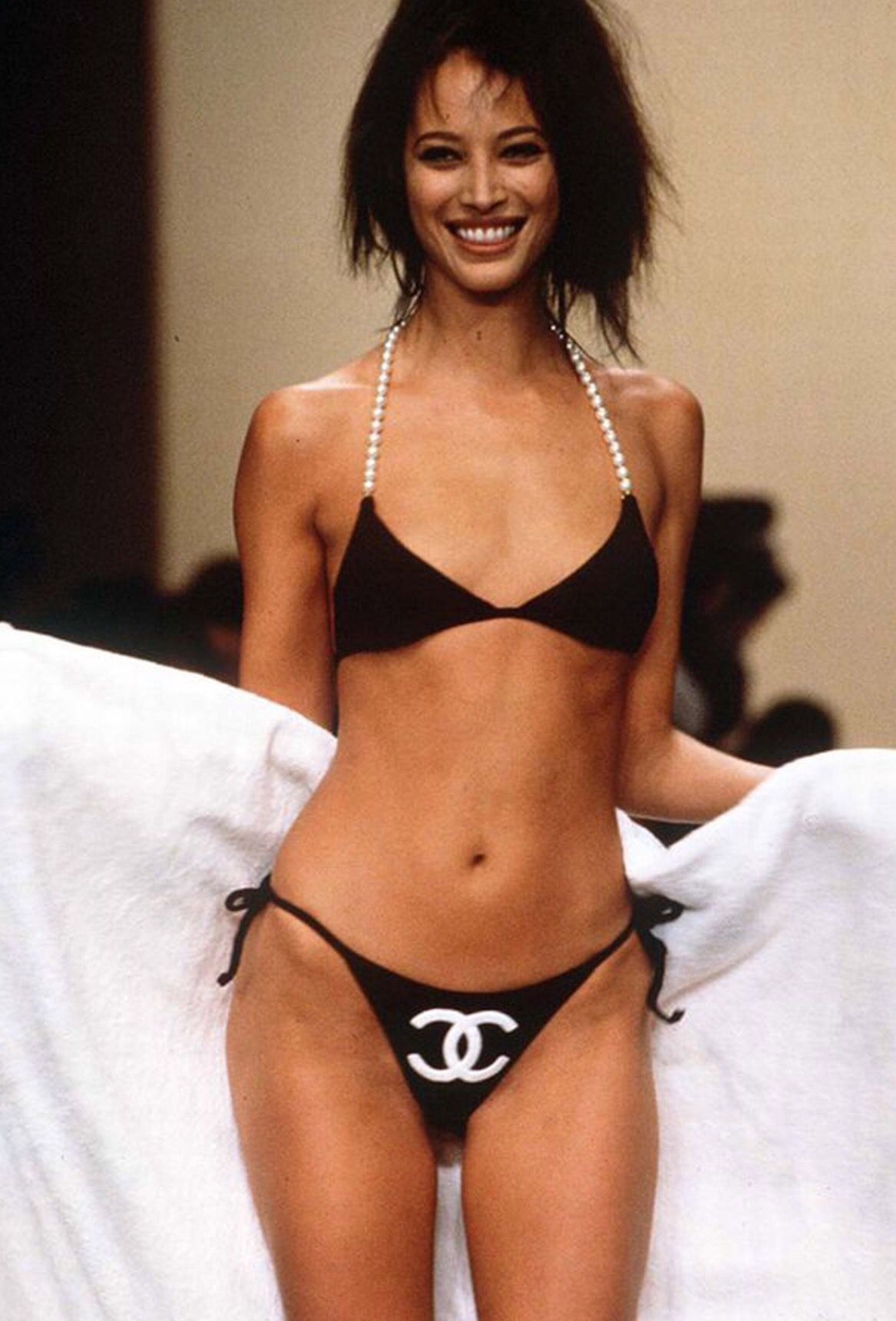 Christy Turlington Bikini