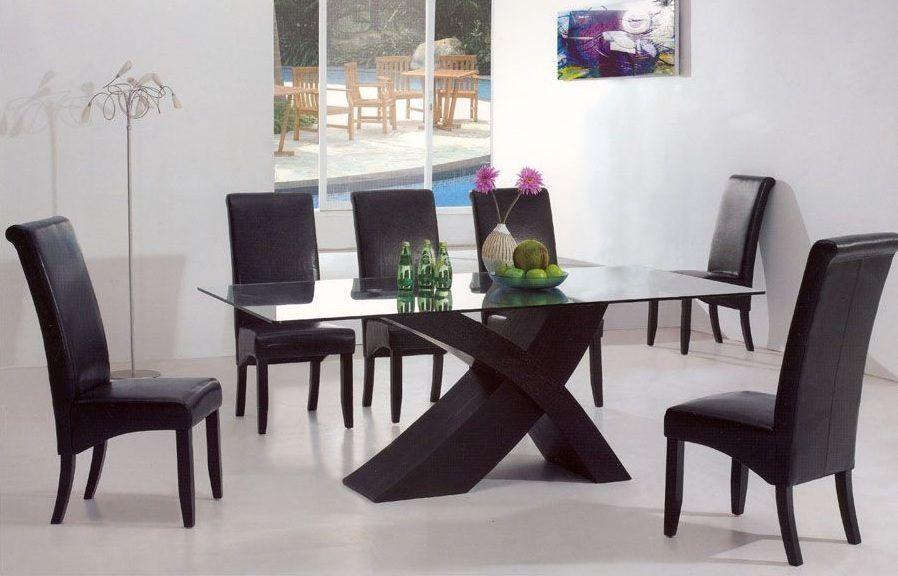 Comedores modernos buscar con google luxury decor - Comedores de cristal ...