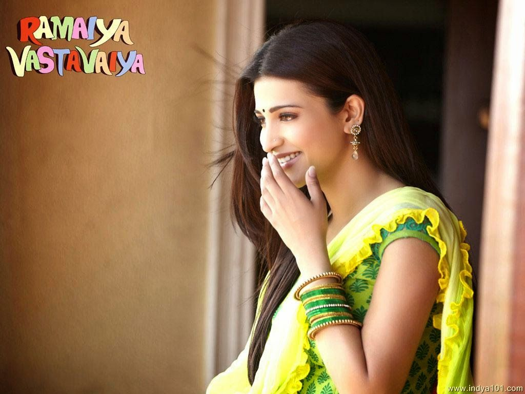 shruti hassan ramaiya vastavaiya movie hd wallpapers ramaiya