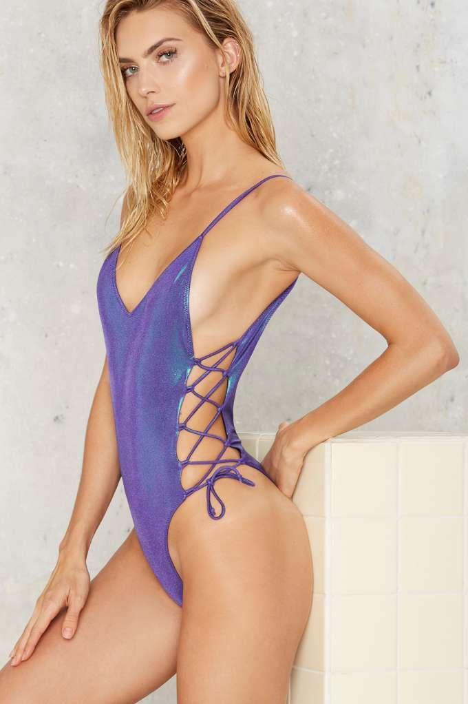 9fc051cfcb Who doesn t wanna look downright luminescent  The Ziggy Swimsuit ...