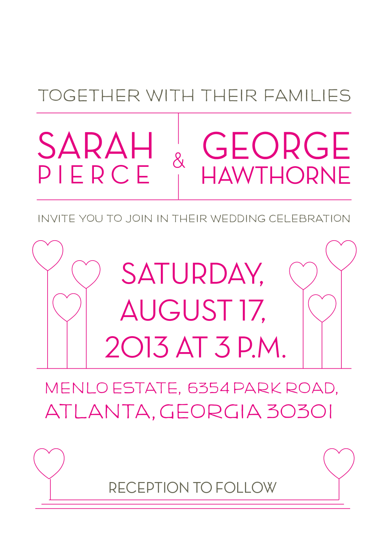Sample Family Wedding Invitation - wikiHow | wedding ideas ...