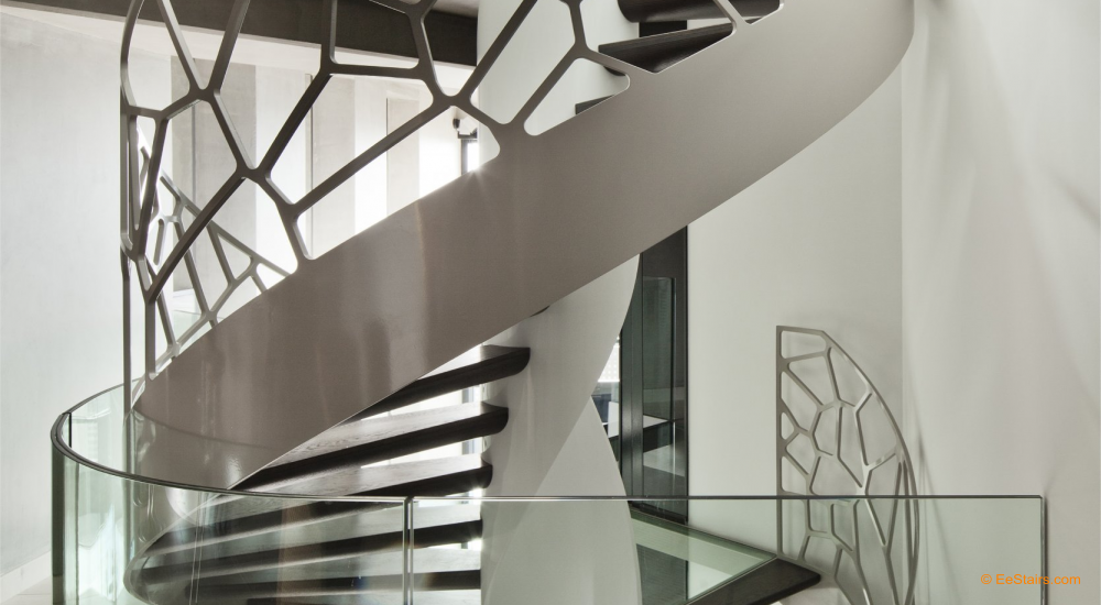 Best Spiral Staircases Round Staircase Staircase Contemporary Modern Staircase Staircase Design 400 x 300