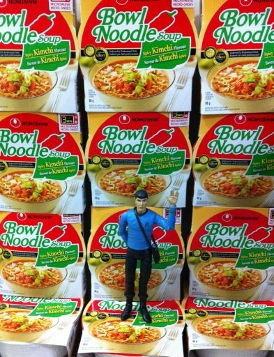 Noodles, noodles, noodles, noodles, noodles, noodles, noodles, noodles, noodles, noodles, noodles, noodles, Spock