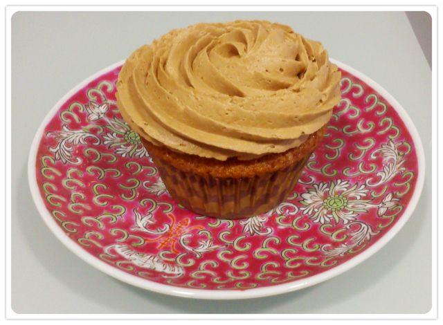 Cupcake para los adictos a la nocilla