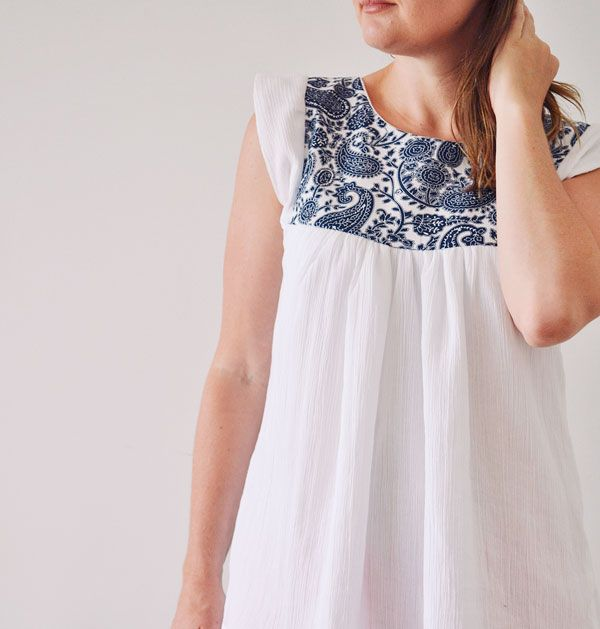 Pattern review :: Tessuti alice top | Wiksten Tova Top and Dress and ...