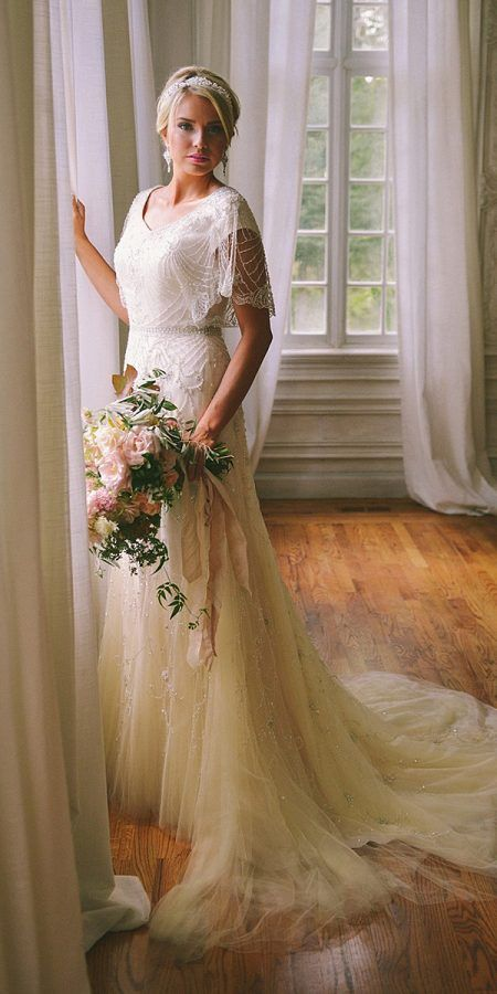 24 Vintage Wedding Dresses 1920s You Never See | Wedding Dresses Guide – Enchanted