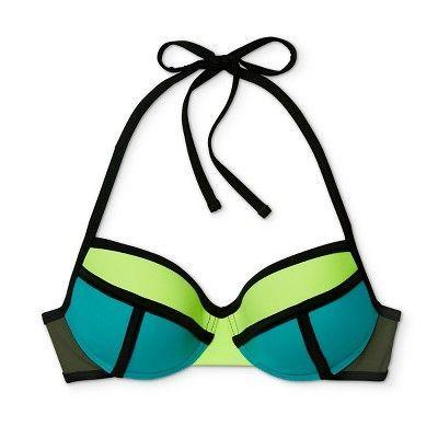 Xhilaration Coral Colorblock Bikini 2-Pc.Set Swimwear Girls XS,S,M,L,XL