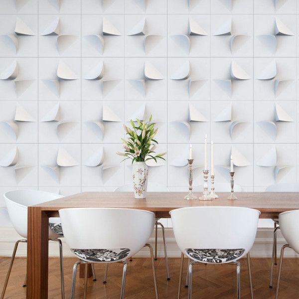 Re Envisioning Paper At Wanteddesign Design Milk Wallpaper And Tiles 3d Wallpaper Tiles Wall Tiles