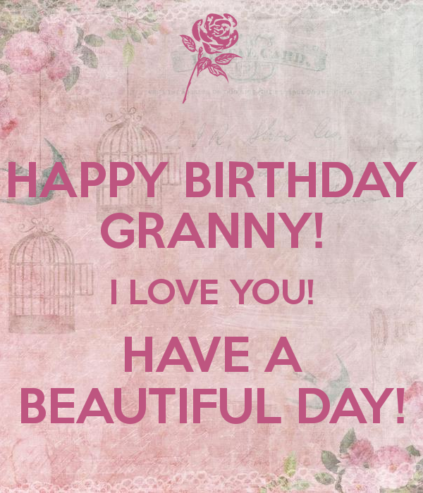 Happy Birthday Granny Birthday Cards Sayings Spelling Images