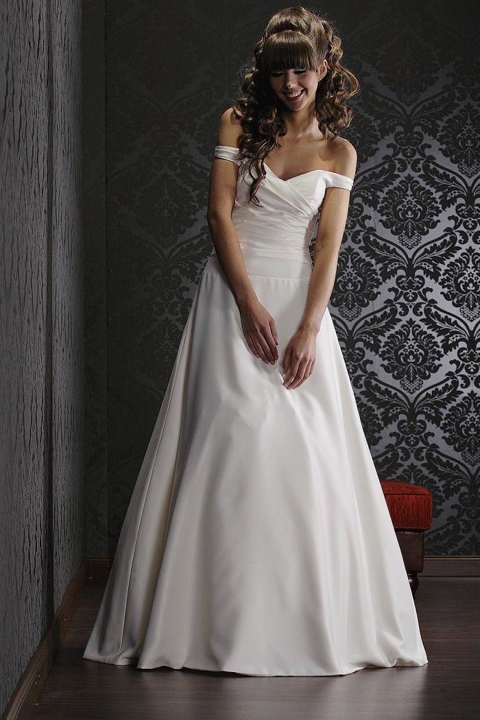 Brautkleid Schlicht Romantisch