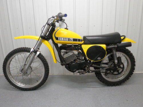 1975 yamaha mx175 dt yz mx 175 gas fuel tank with cap petcock 75