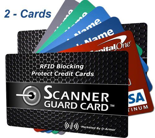 Rfid Wallet Blocking Cards Secure Credit From Ideny Theft Fits Into Your Card Holder Case Or Sleeve Sandwich