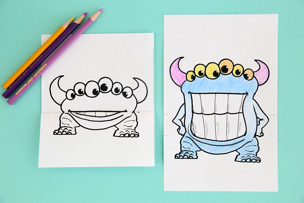Printable Big Mouth Monster Coloring Pages It S Always Autumn Monster Coloring Pages Coloring Pages Cartoon Drawing For Kids