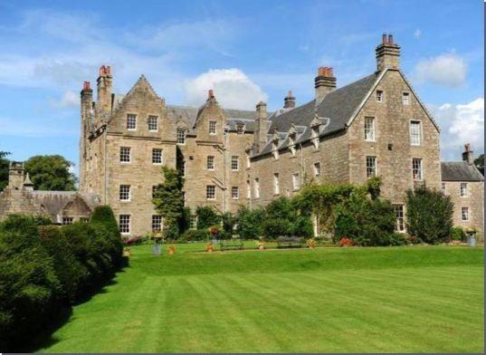 Blair Castle Ayrshire Scotland Aka Blair House Estate
