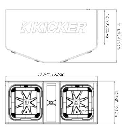 Dual 12 L7 Subwoofer Enclosure Subwoofer Enclosure Car Audio Installation Subwoofer