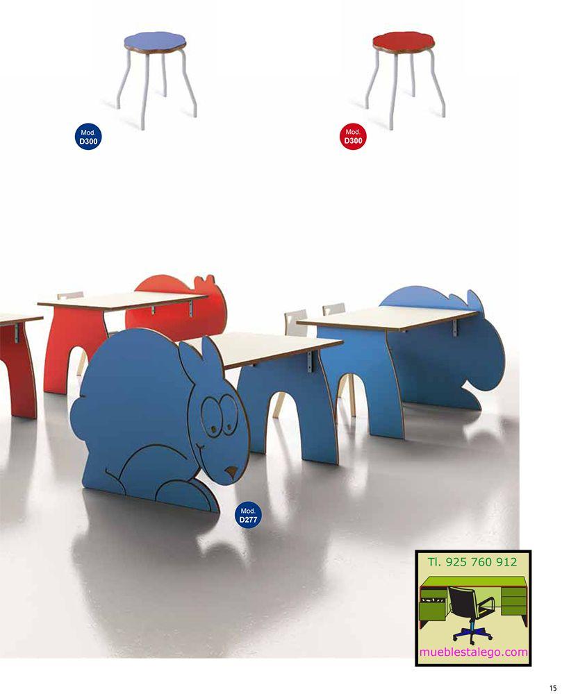 Muebles infantiles mesa de animales | Para niños | Pinterest
