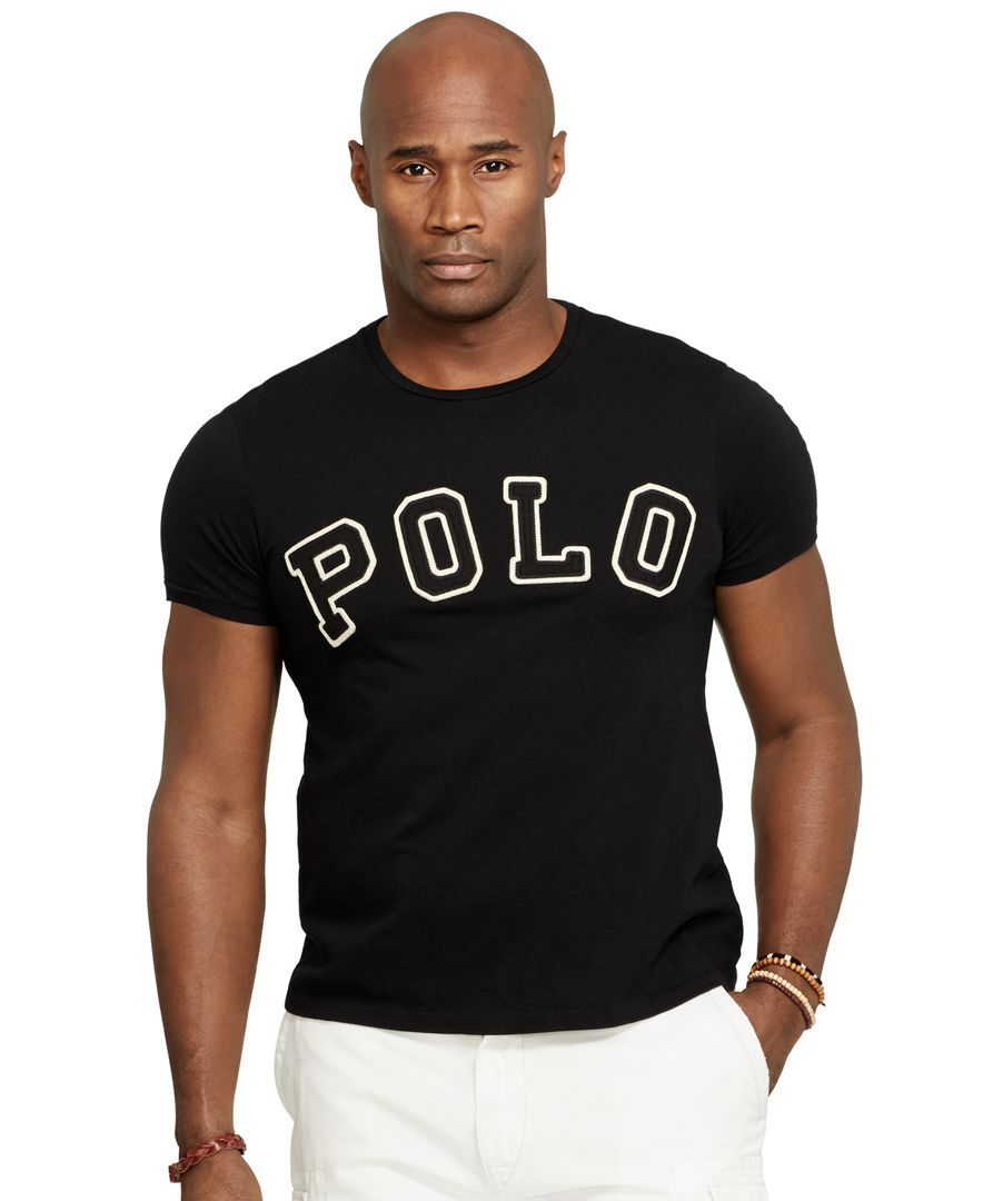 Polo Ralph Lauren Big and Tall Classic-Fit 'Polo' T-Shirt