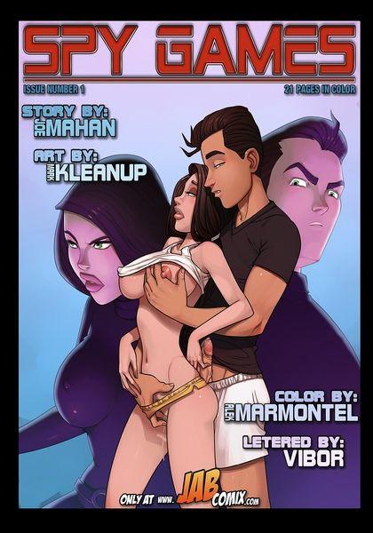 Game Cartoon Porn Comics - Jab Comix- Spy Games Issue No.1 - Porn Comics Galleries