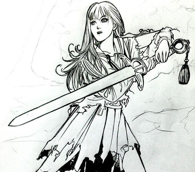 Youko nakajima nanqim on paper thetwelvekindoms manga anime youkonakajima outline
