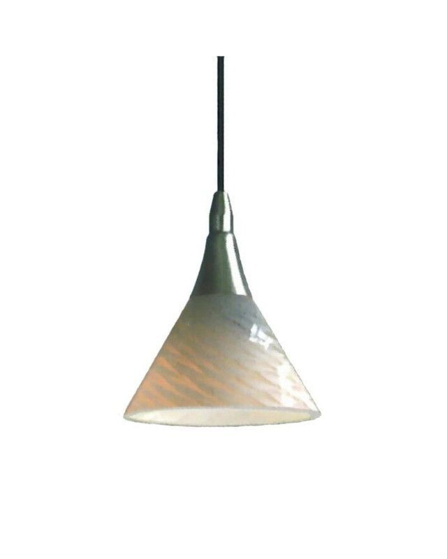 epiphany lighting pcp306 bn one light mini pendant in brushed nickel