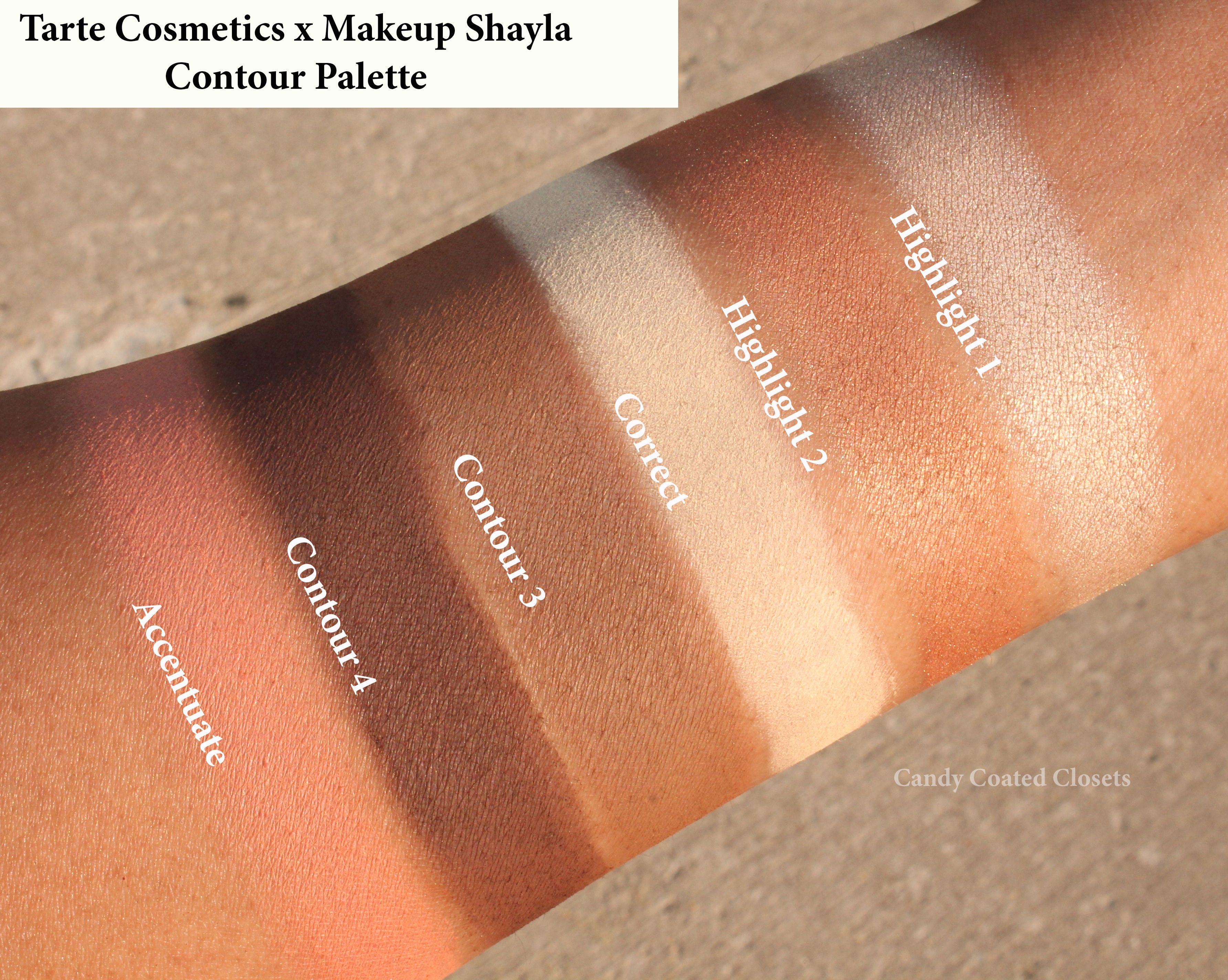 Tarte Cosmetics X Makeup Shayla Contour Palette Review & Swatches