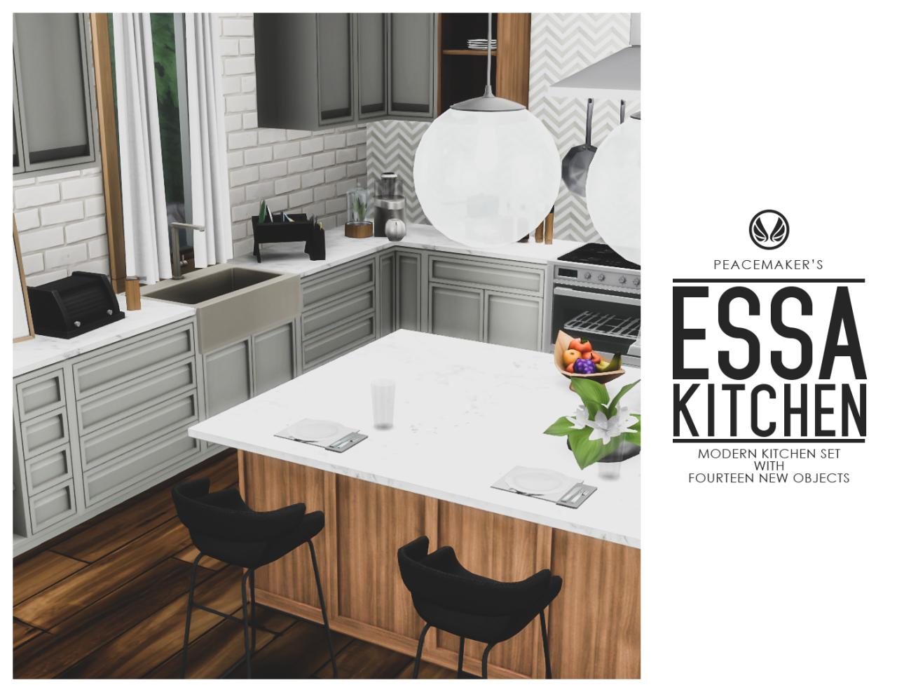 Source: Tumblr | Kitchen Set | Sims 4 | TS4 | Maxis Match ...