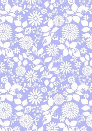 Scrapbook Paper Lilac Floral Design Patterns Pinterest