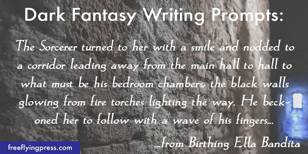 dark fantasy romance writing prompts from Ella Bandita and