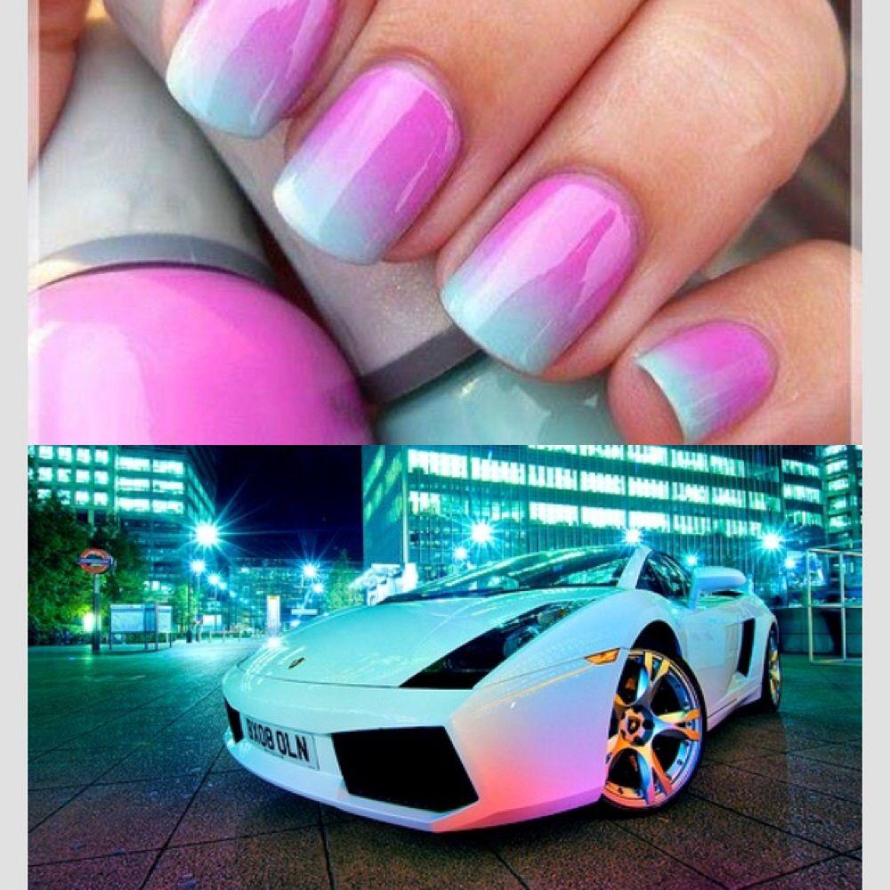 Pink Blue | Lamborghini Gallardo