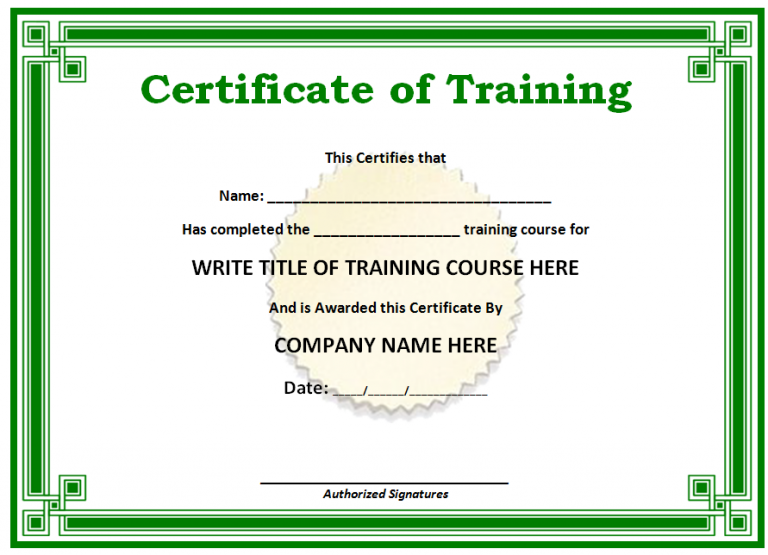Certificates Templates Is A Sheet Of Paper Given To The Person Who