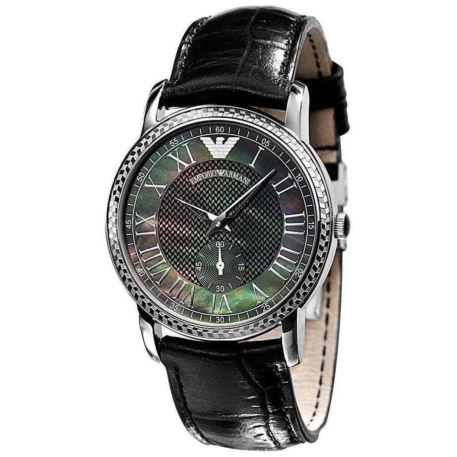 ebe7cf2349b Emporio Armani Women s AR0468  Classic  Black Watch Black Watches
