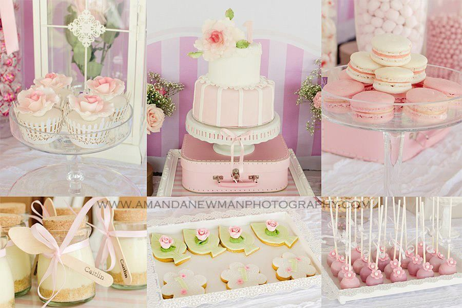 Little Big Company The Blog Beautiful Pink 1st Birthday Party by