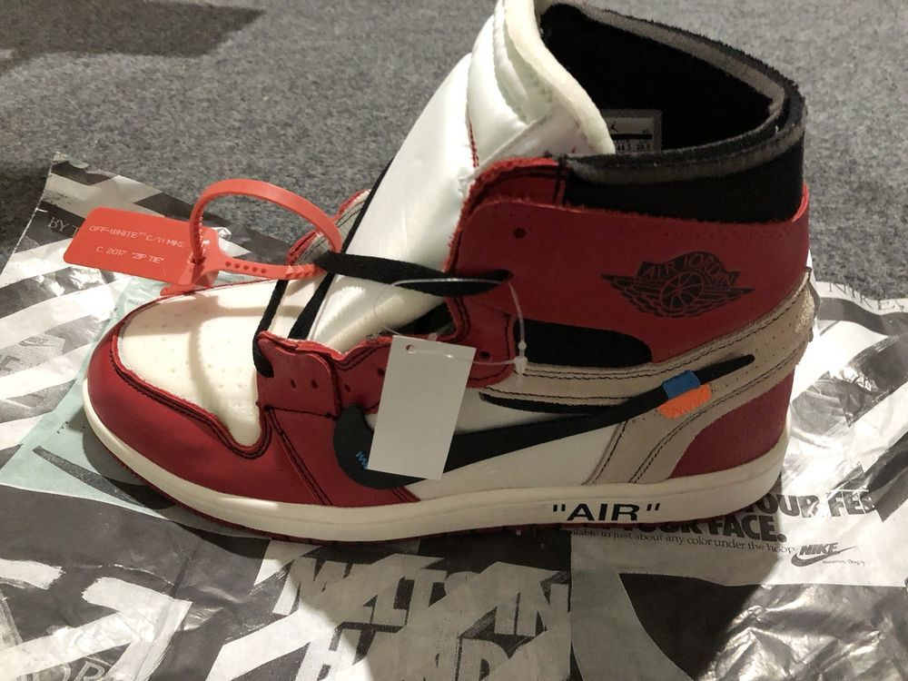 12fdb943f4b822 Off-White Air Jordan 1 Chicago Red Men s size 10.5 US DS With Tags  fashion   clothing  shoes  accessories  mensshoes  athleticshoes (ebay link)