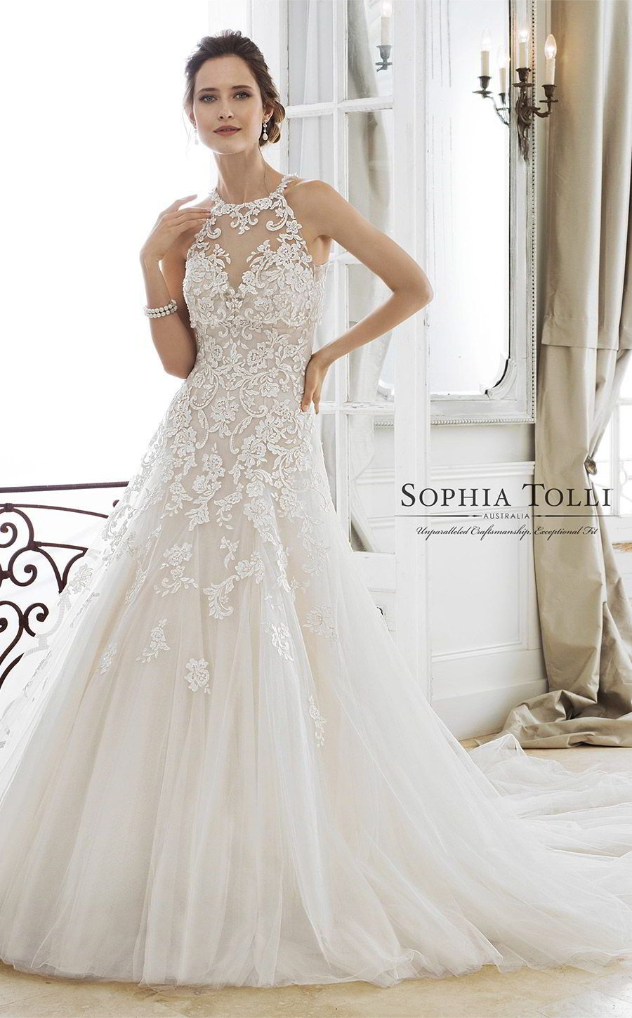 Galina wedding dresses  sophia tolli spring  mon cheri bridals strapless sweetheart