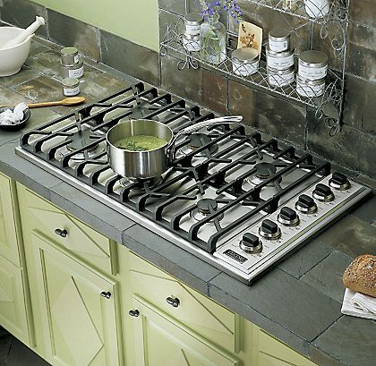 Fisher Paykel 36 Inch 5 Burner Natural Gas Drop In Cooktop