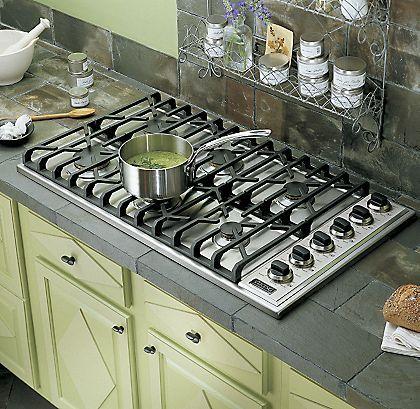 36 Gas Cooktop Vgsu Viking Range Corporation Kitchen