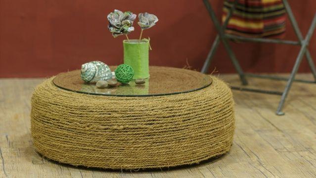 cr ations diy brico poufs et tables. Black Bedroom Furniture Sets. Home Design Ideas
