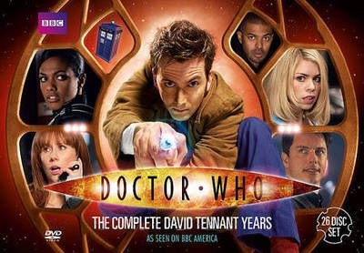 Who knew you could get a box set of the Tennant years on Ebay?  Now I do.